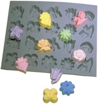 Flower Assortment, Rubber Mold